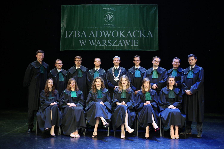 Ślubowanie egzaminowanych aplikantów adwokackich 2016